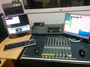 Setup at Radio UNIOS